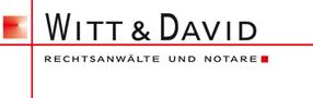 Witt & David Rechtsanwälte und Notare - Firmenzeichen